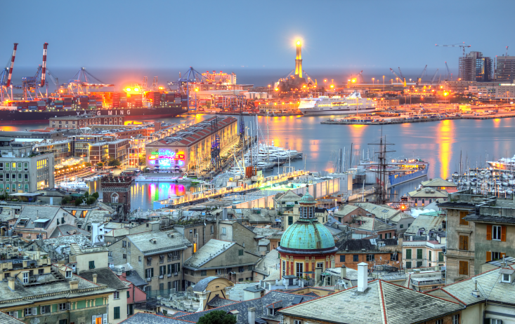 private jet hire Genoa