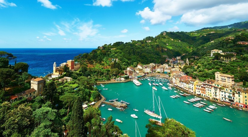 private jet hire portofino