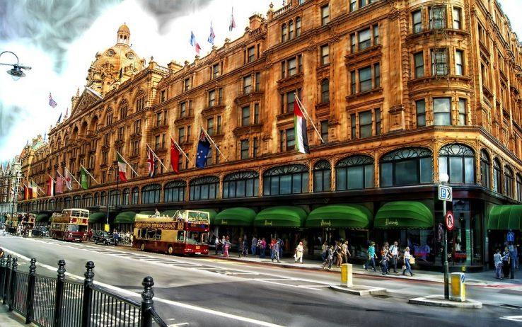 Shopping in London - Harrods