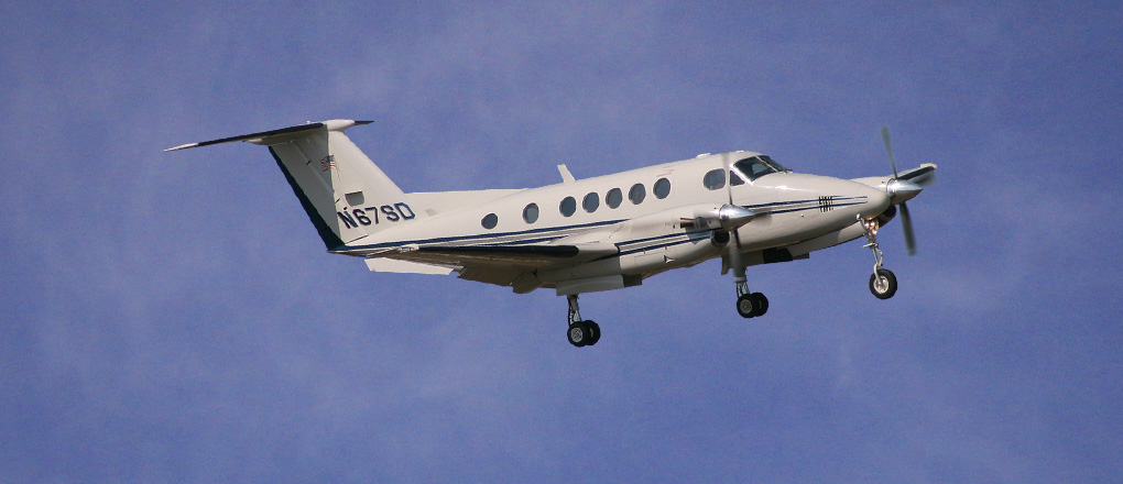 B200-King-Air-Private-Jet Charter