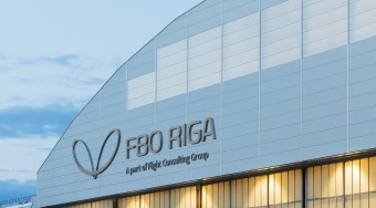 FBO Riga International airport private jet hire