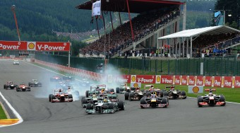 Private jet hire Belgian F1 grand prix 2016, at the Spa Francorchamps circuit