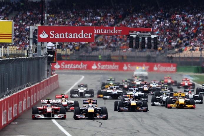 private jet hire to the German F1 grand prix at Hockenheim 2016