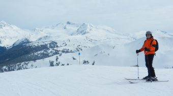 Skiing in Whistler
